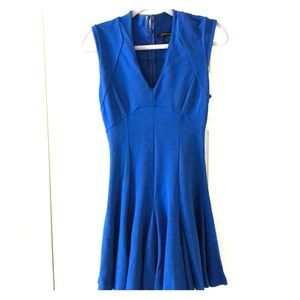 Royal blue French connection cocktail dress